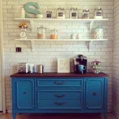 Learn all about the newest kitchen trend: coffee stations. Here is your guide to adding a coffee or beverage station to your kitchen.