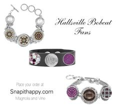 Hallsville Bobcat Fans  Place your order at: Snapithappy.com