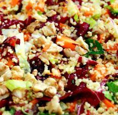 Salada Colorida de Couscous  - http://www.receitasja.com/salada-colorida-de-couscous/