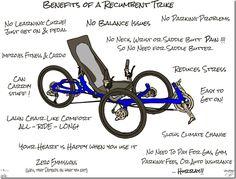Benefits of a Recumbent trike