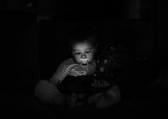 "Portrait of little boy by Blue Egg Photography for the ""Night"" theme 