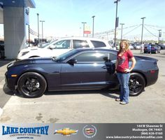 Congratulations to Crystal Miller on your #Chevrolet #Camaro purchase from Sierra Seabolt at Lake Country Chevrolet Cadillac! #NewCar