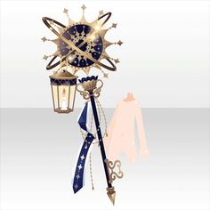 Moonlit night of astrologia Anime Weapons, Fantasy Weapons, Kawaii Accessories, Anime Dress, Cocoppa Play, Prop Design, Weapon Concept Art, Drawing Clothes, Character Creation