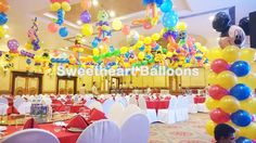 """Sweetheart Balloons, where joyful thoughts and delightful happenings all come hand in hand. Tracing their roots from the seventies, Sweetheart Balloons has made a name for generations with only one thing in mind, """"Total customer satisfaction"""".  Just ask their many loyal clients who have shared in their joyous treats, from birthdays to weddings, baptismal and back again.  Organizing parties and events has been our passion, and in doing so, giving their clients a memorable and momentous…"""