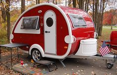 T@B Caravan - Matches my Fiat 500C perfectly... this colour-way only appeared in USA showrooms, gah !