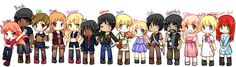 The Hunger Games characters - by Camille (devaintart.com)