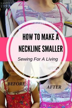 Very easy and useful tips! Do you want to learn how to make a neckline smaller? In this article, I share several ways to reduce, change the shape, or enlarge a neckline opening.Fantastic 15 Sewing tips are readily available on our internet site. Sewing Lessons, Sewing Hacks, Sewing Tutorials, Sewing Crafts, Sewing Tips, Sewing Ideas, Techniques Couture, Sewing Techniques, Sewing Alterations