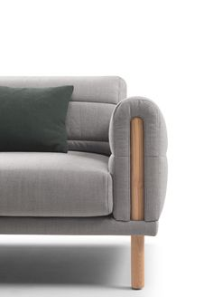Cozy chair with blanket style upholstery that makes it ideal for lounching