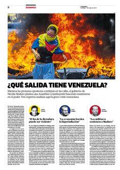 Diseño Editorial para revista Domingo del diario La República de Perú. Para ver más páginas click a la foto. #newspaper #newspagedesign #newsdesign #editorialdesign