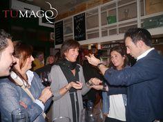 Magia en el restaurant El Tastet Sant Cugat. Magia de cerca entre los comensales. www.tumago.com