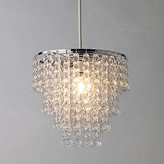 Buy John Lewis Easy-to-fit Annette Ceiling Shade online at JohnLewis.com - John Lewis