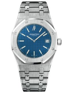Audemars Piguet Royal Oak (41mm)  Steel + Navy Dial... could there be a more perfect watch... I'll get there one day!