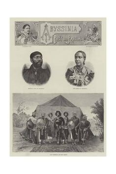 Giclee Print: Abyssinia Past and Present : 24x16in