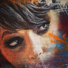 Melbourne, 2013 adnate graffiti street art