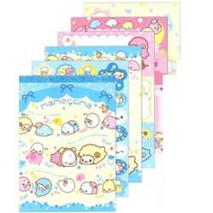 San-X Mamegoma Goodnight Baby Memo Pad with Stickers