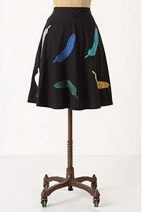 This is a good skirt for a librarian.