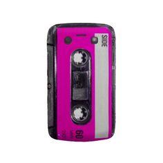 80's Pink Label Cassette Blackberry Bold Cases