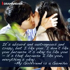 Quote from My Girlfriend Is A Gumiho