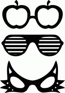Photo Booth Prop Templates | Things I wanna try | Pinterest | Photo ...