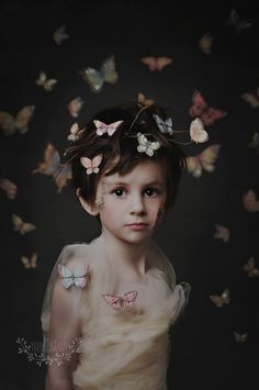 children photography | children portraits | concept photography | butterflies | Vanilla Tree Photography | Daily Fan Favorite | Beyond the Wanderlust | Inspirational Photography Blog