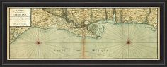 Mexico gulf coast map