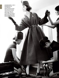 Sui He & Nan Fulong by Mario Testino in 'Portrait of a Lady' for Vogue China December2013 - 0- News for Women, Fashion & Style, Women's Rights - Women's Fashion & Lifestyle News From Anne of Carversville