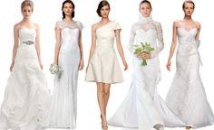 5 opciones diferentes para 5 estilos diferentes de novias