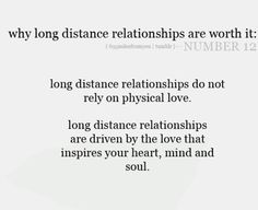 Long distance relationships are more than worth it.