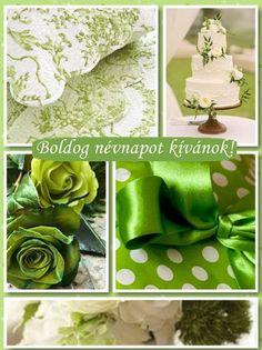 Boldog névnapot!-made by me Happy Birthday, Green, Happy Brithday, Urari La Multi Ani, Happy Birthday Funny, Happy Birth