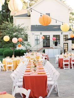 La Tavola Fine Linen Rental: Nuovo Burnt Orange with Nuovo Gold and Peach Napkins | Photography: Amanda Crean Photographers, Planning: Emily Coyne Events, Florals: Loop Floral & Event Arts, Venue: Bear Flag Farm, Catering: Bukhorn Catering and Park Winters, Rentals: Encore Events Rentals and Firehouse, Paper Goods: Minted, Lighting: Monkey Glue Lighting
