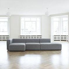 MAGS Sofa, Modular units (Fabrics versions): create your own sofa, HAY - deco and design