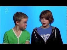 """Jack Harries: School of Comedy BTS."" Young Jack Harries and Will Poulter being comedic geniuses."