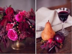 bold red and berry tablescape inspiration shoot Autumn Bride, Autumn Wedding, Wine Colored Wedding, Pink Wedding Colors, Berry Wedding, Fall Flowers, Flower Centerpieces, Wedding Shoot, Tablescapes