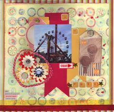 Whee! by Julenebydesign. I love the homemade balloon tags, and the ferris wheel photo looks great as a square picture!