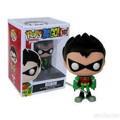 Teen Titans Go Robin Pop Vinyl Figure
