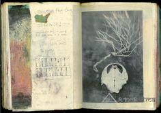 Art Journal by Elena Ray Artist Journal, Artist Sketchbook, Sketchbook Ideas, Journal Art, Photo Journal, Art Journals, Collages, Moleskine, Bleach Hoodie