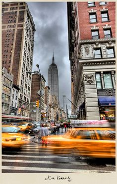 NYC. Manhattan. By Ken Kaminesky