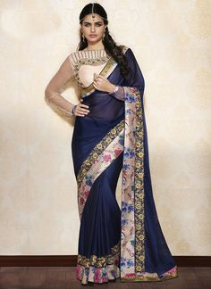 http://www.sareesaga.in/index.php?route=product/product&product_id=25513 Style:Designer SareeShipping Time:10 to 12 Days Occasion:Festival ReceptionFabric:Georgette Colour:Blue Work:Embroidered Resham Work Lace For Inquiry Or Any Query Related To Product, Contact :- +91-9825192886, +91-7405449283