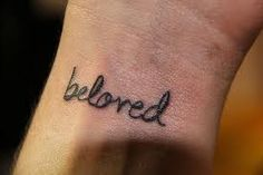 beloved I LOVE THIS. I think this might be the one. Different placement. Beloved Tattoo, Cute Tats, Warrior Tattoos, Neue Tattoos, Love Your Skin, Body Love, Tatoos, Cross Tattoos, Get A Tattoo