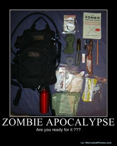 Bug out bag.