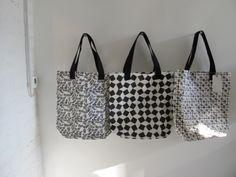paola navone's print tote bags for merci // milan design week 2012