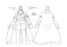 Water 7, Water Seven. Iceberg / Iceburg model sheet, Character design, Official reference, Settei