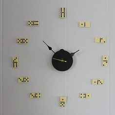 Un reloj dominó para papá