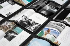 View From A Blue Moon Book on Behance