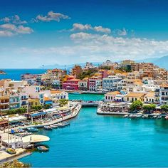 Agios Nikolaos, Crete, Greece ... The pictutesque port of #agiosnikolaos invites you to discover all of its hidden beauties! Tickets booked? #cretesecrets #crete #lasithi #port #summervacations #instagreece #discover by @preferencevacations http://tracking.publicidees.com/clic.php?progid=378&partid=48172&dpl=http%3A%2F%2Fwww.ecotour.com%2Fvoyage%2Fcrete-p8