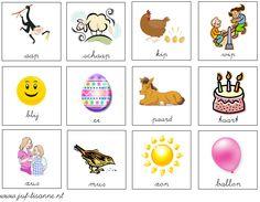 www.juf-lisanne.nl Rijmkaartjes spel lente thema.