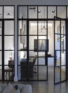 Stunning glass walls/doors