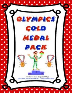 Help your class achieve GOLD this year with this FREE gold medal pack. Included are gold medal printable labels, a gold medal behavior certificate, and a gold medalist of the week graphic organizer.