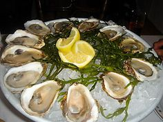 To those people who love oysters, there is little that can compare with a cold, plum, raw oyster that is sipped from its shell. Served with a homemade Mignonette sauce Fish Dishes, Seafood Dishes, Fish And Seafood, Best Seafood Recipes, Great Recipes, Family Recipes, Summer Recipes, Favorite Recipes, Oyster Soup