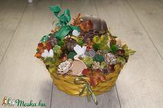 Őszi asztaldísz, kosárka (melcsiangel) - Meska.hu Planter Pots